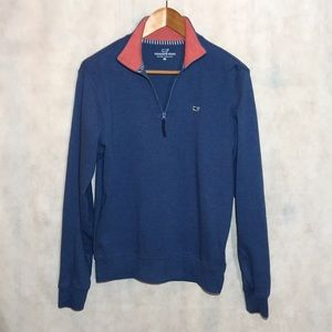 Vineyard Vines Blue Quarter Zip Pullover Size XS